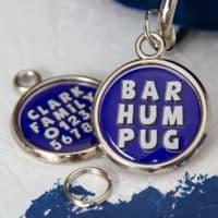 Christmas Dog Tag - Bar Humbug